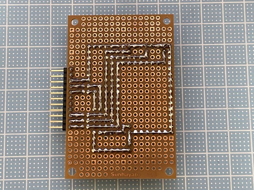 LED基板(ハンダ面)